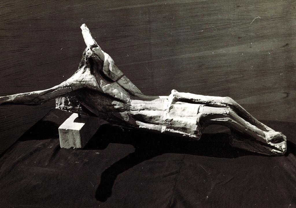 Crocefisso ceramica 1949
