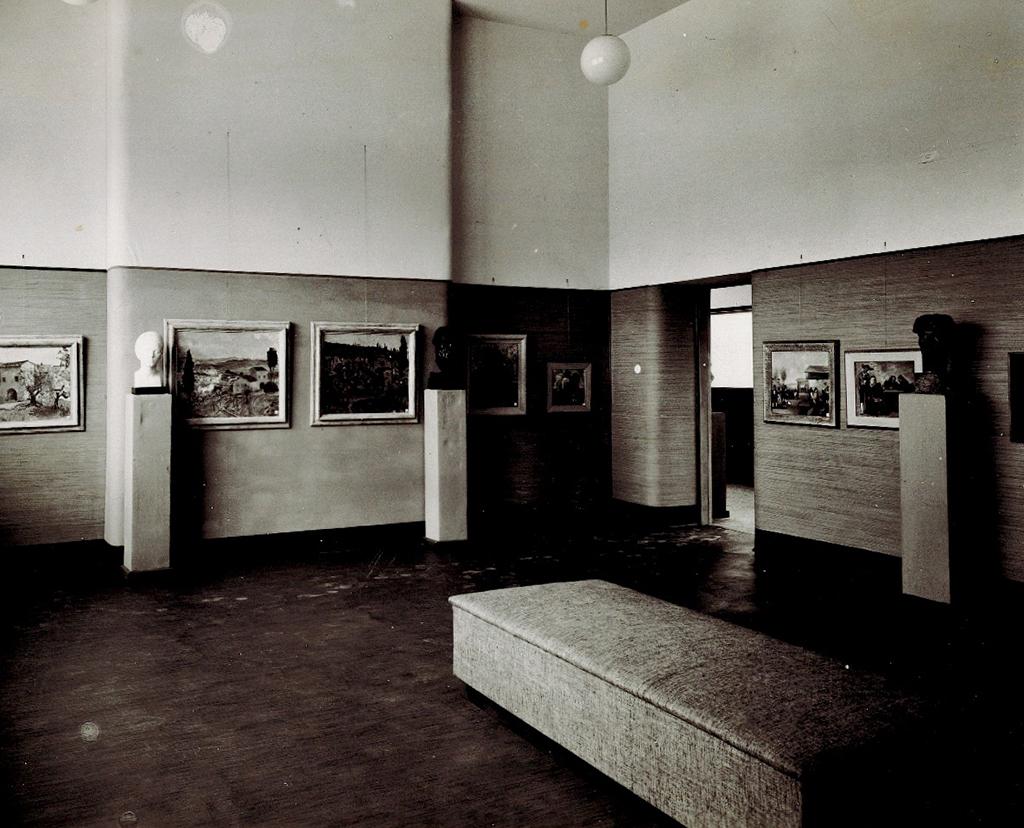 Parete alla Sindacale di Bolzano 1937