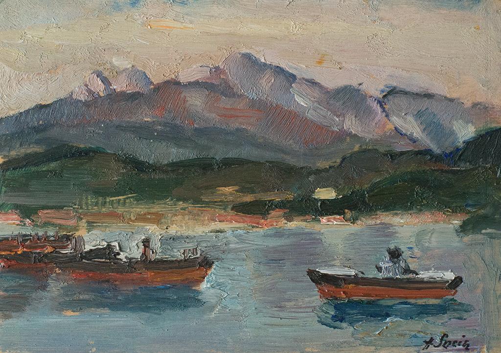 Barche in rada
